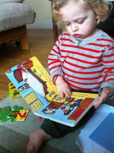 Elliot reading
